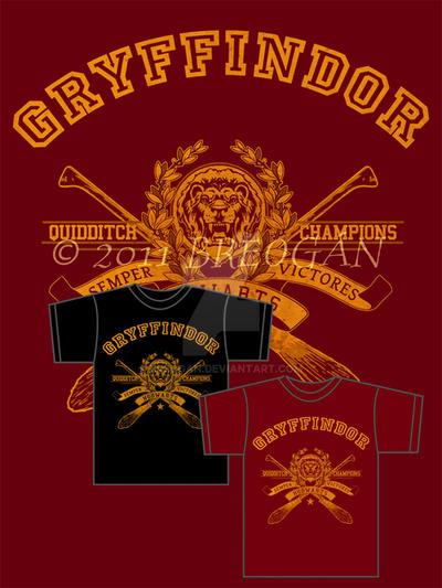 Gryffindor Champions - Tee by Breogan