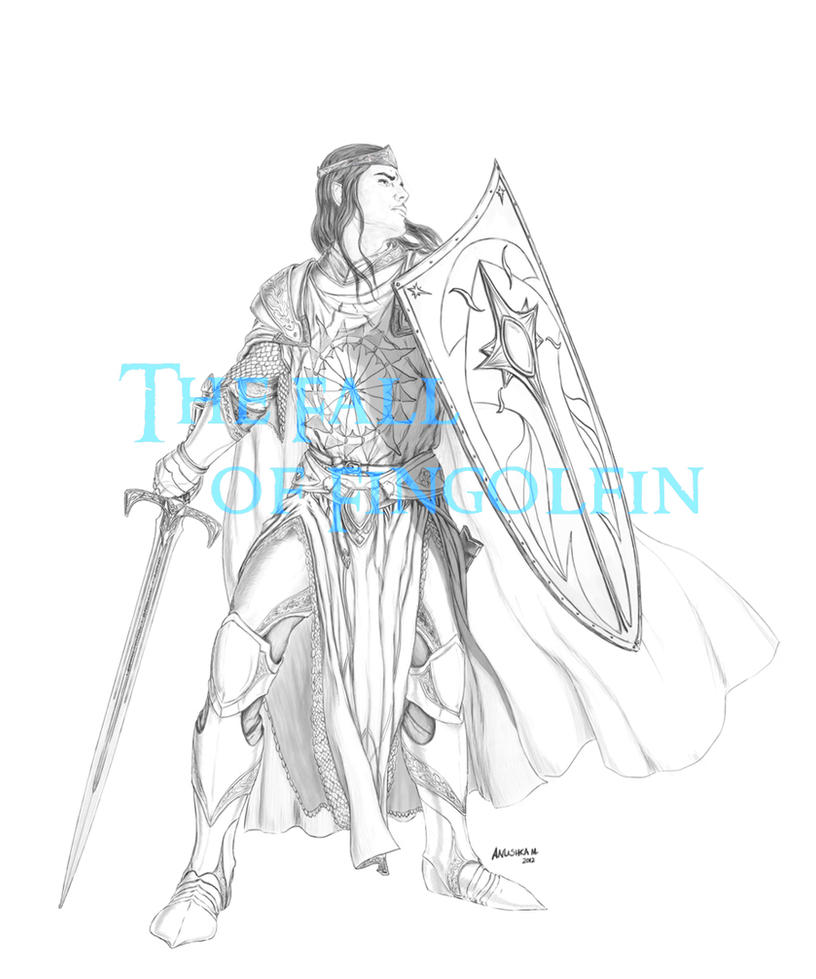 Fall of Fingolfin - Fingolfin concept by Breogan