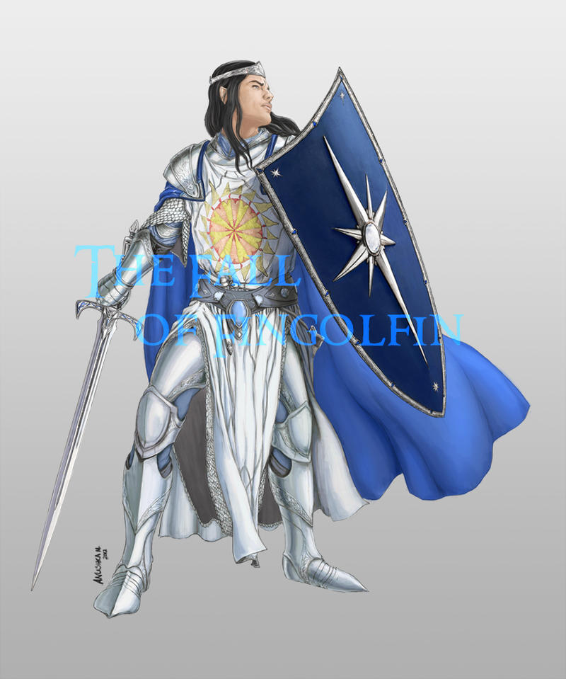 Fall of Fingolfin - Fingolfin colour concept by Breogan