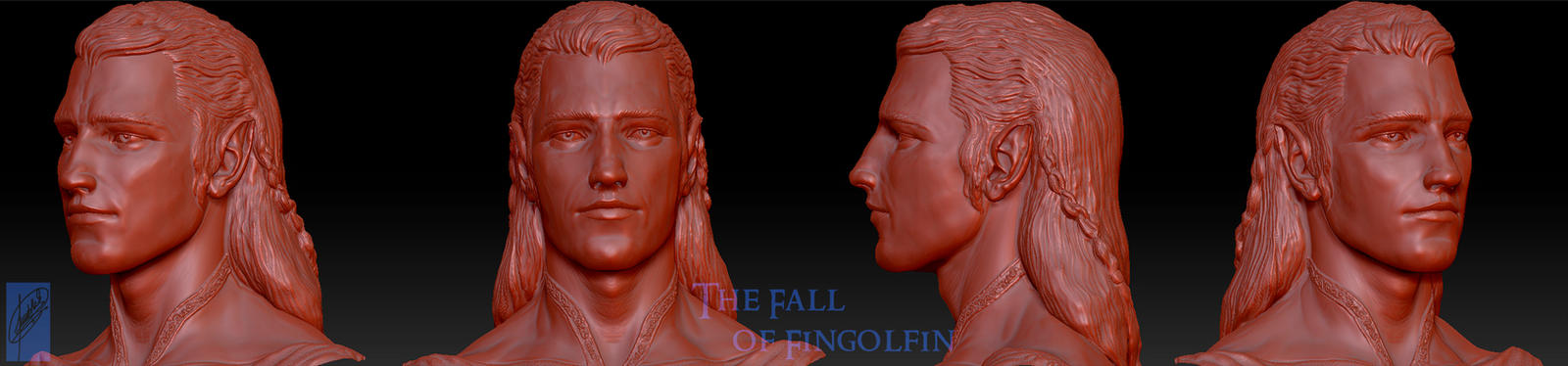 Fingolfin Bust v.2 by Breogan