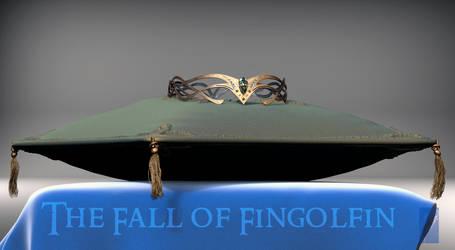 High King of Noldor Crown - 3D concept by Breogan