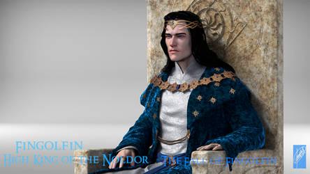 Fingolfin King - Detail by Breogan