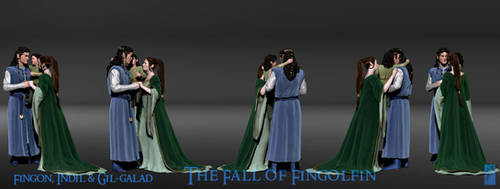 Fingon's Family 3D Concept -Turnaround by Breogan