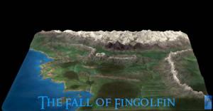 3D Map of Beleriand - 2