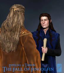 Royal Councillor Tarion - 3D Concept