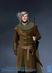 Galador, Scout Captain - 3D Detail