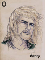 Eomer of Rohan by Breogan