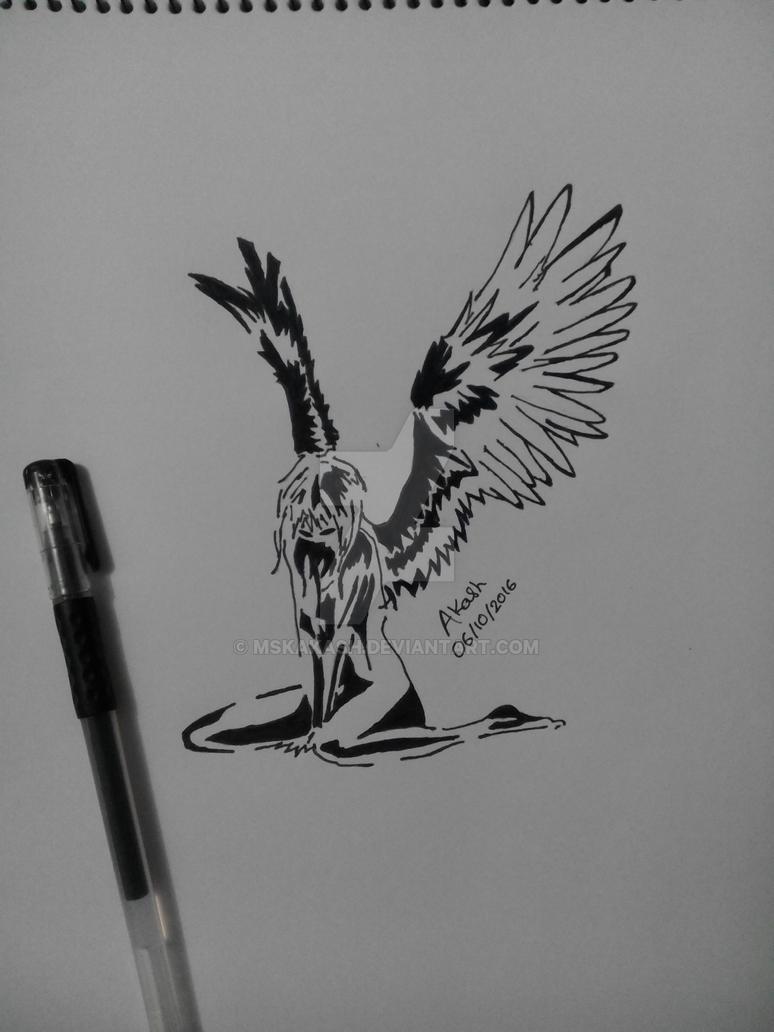 Broken Angel by mskakash