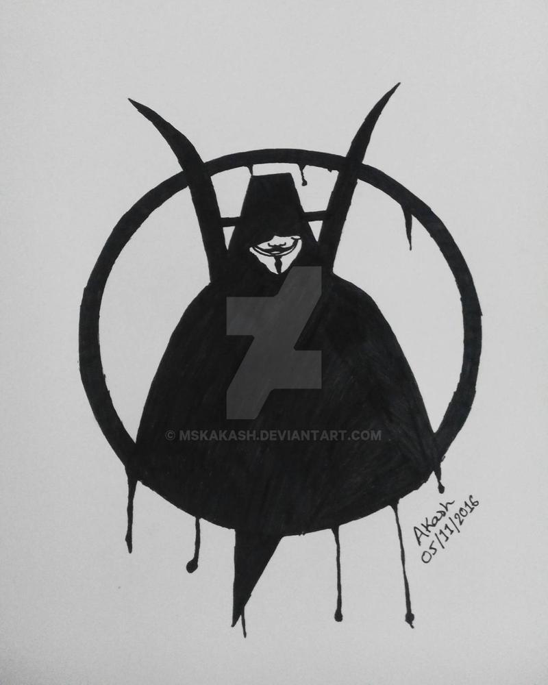 V for Vendetta by mskakash