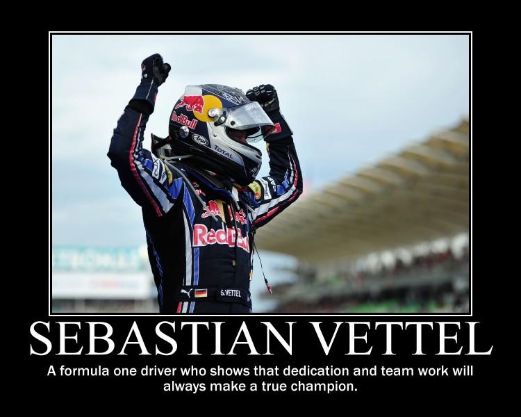 Sebastian Vettel motivational by jedijaffy14