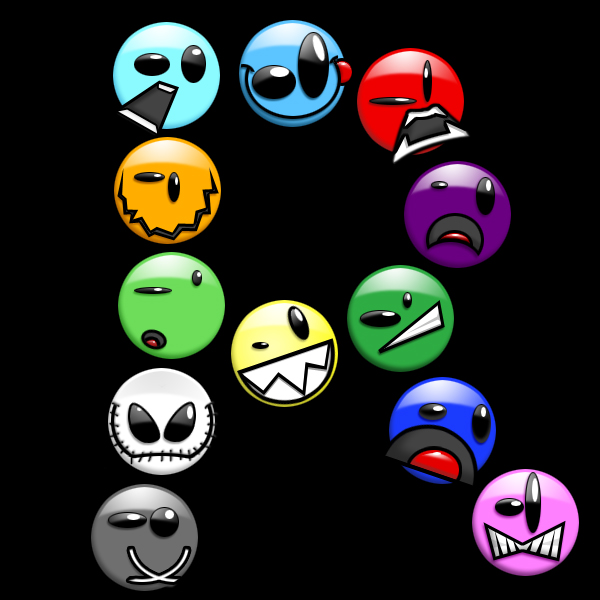 The Smiley Project by Rakeesh