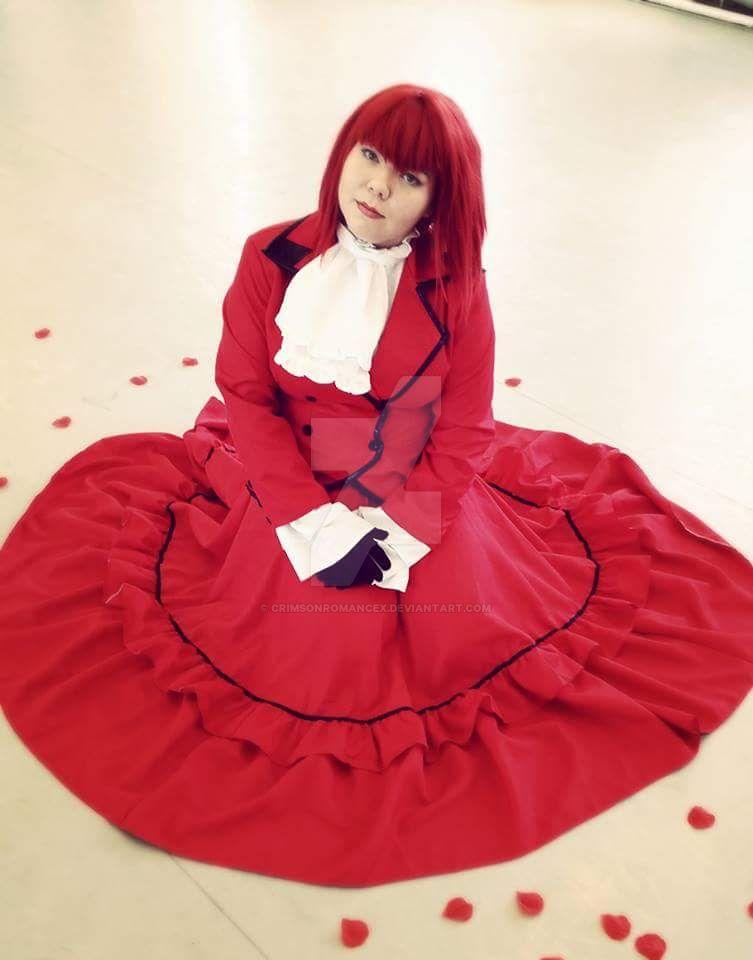Madam Red #black butler by CrimsonRomancex