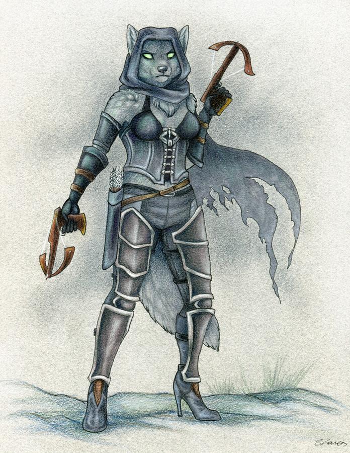 Demon Hunter by Korrok