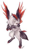 Nifty Wolf by Korrok