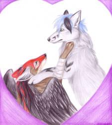 KC and Midnight Fox by Korrok