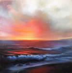 Blue Tide Sunset
