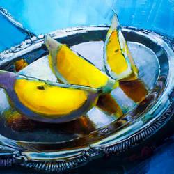 Lemons on Silver 2 by LS-1302