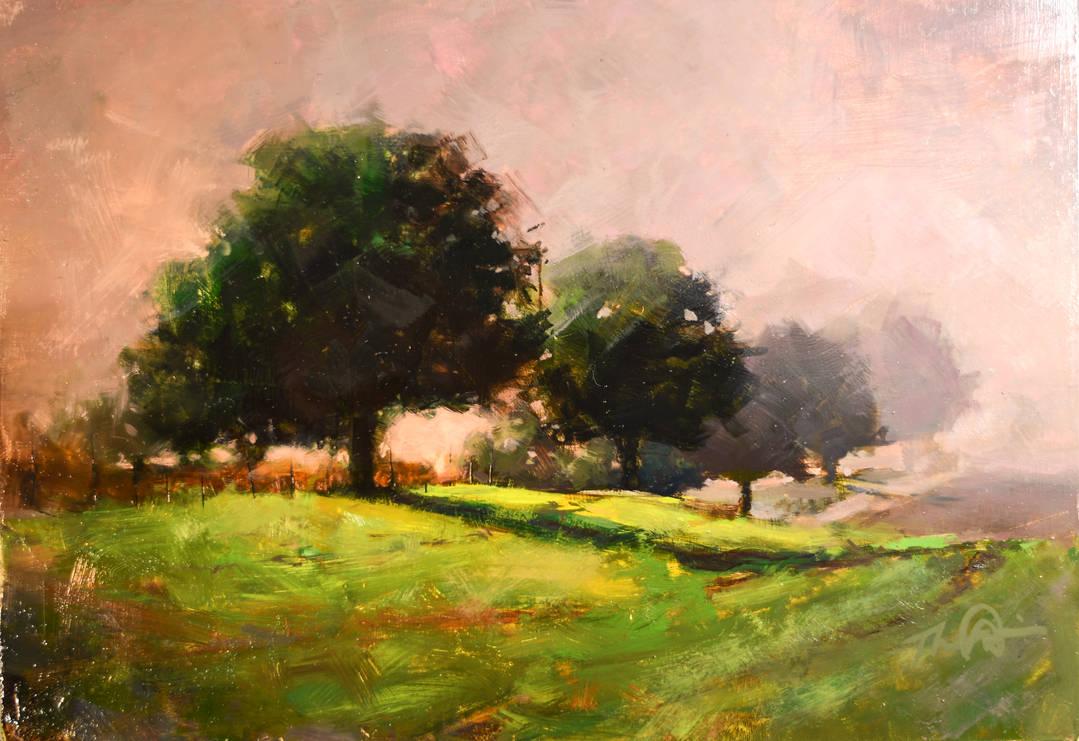 Lugoff in Morning Fog by LS-1302