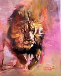 Lion Color Study III
