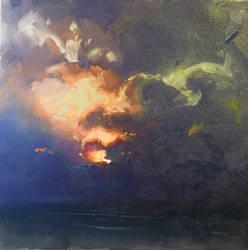 Okinawa Sunset Color Study V