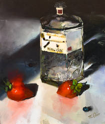 Gin and Strawberries