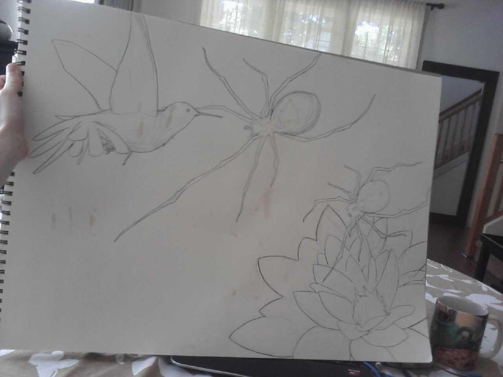 in progress by kayl33n
