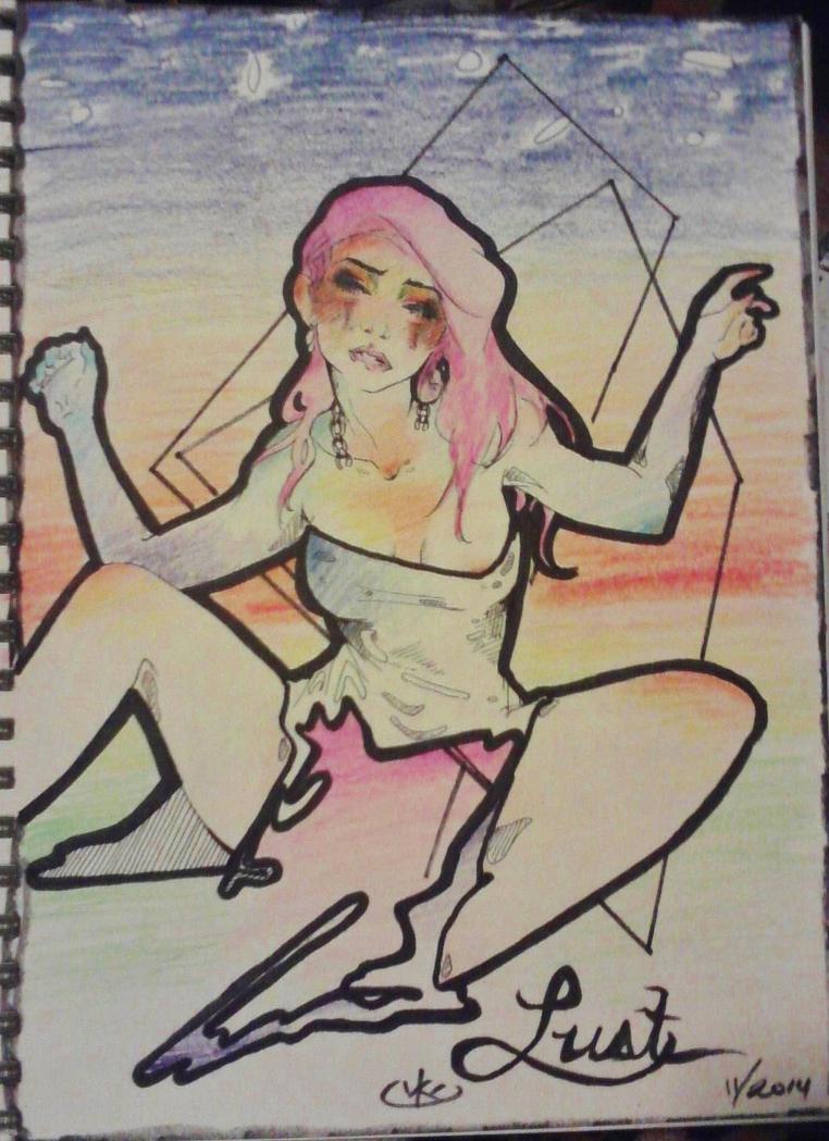 Lust by kayl33n