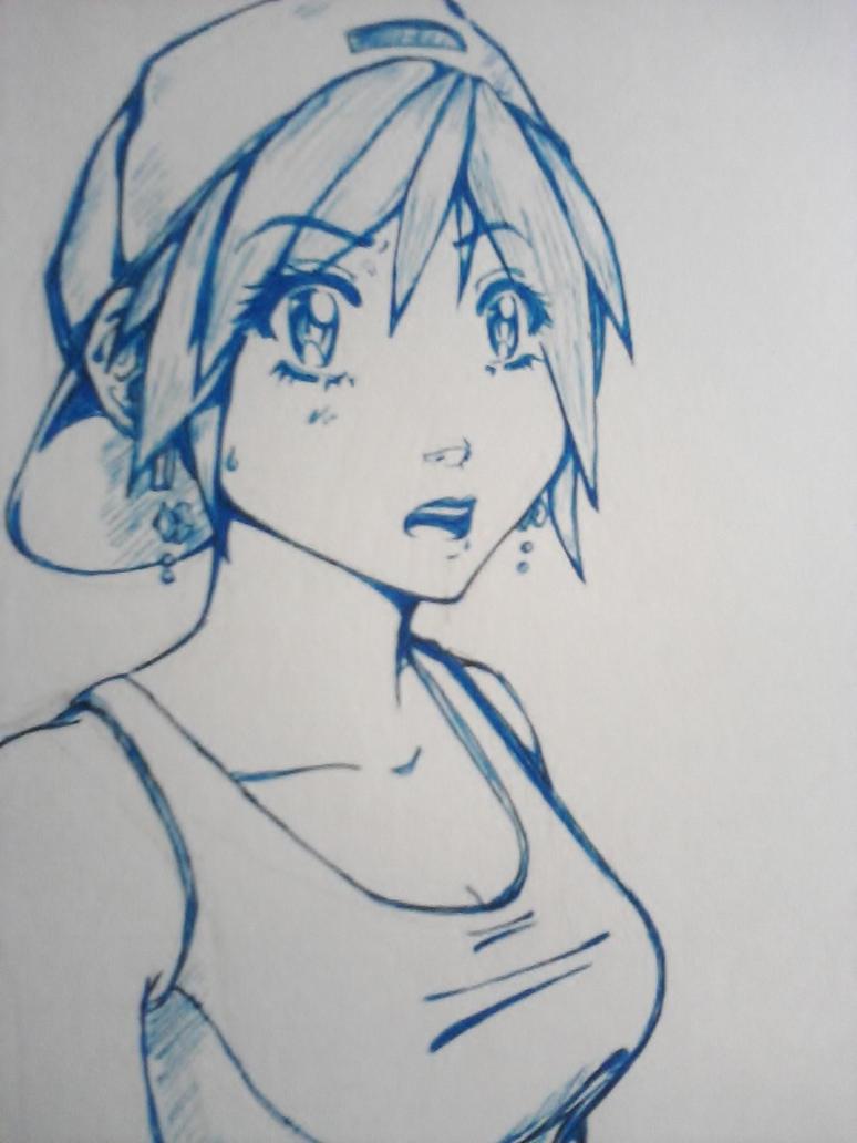 hat girl by kayl33n