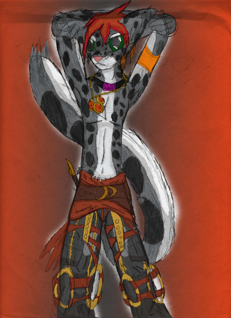 Anthro snow leopard male - photo#38
