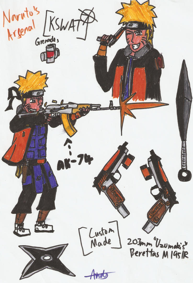 KSWAT: Naruto's Arsenal by KonKoroTigerC on DeviantArt