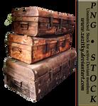 Old Suitcases-by-Zazitky-Stock