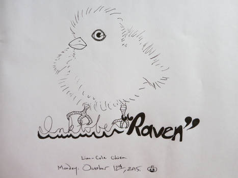 Inktober Raven