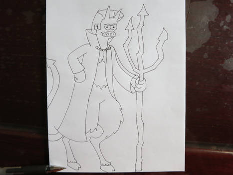 Inktober Devil