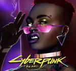 THE MOX - Cyberpunk 2077 fan art