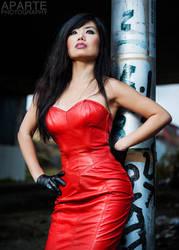 Lady in red by SaoriSloan