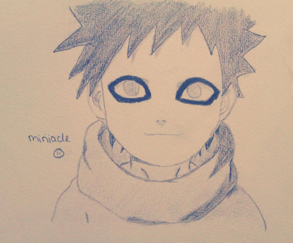 naruto- gaara (child) by miriiacle