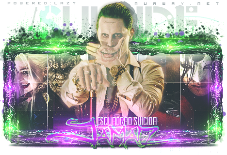 Sign [Esquadro Suicida] Coringa by Designer-Lazy