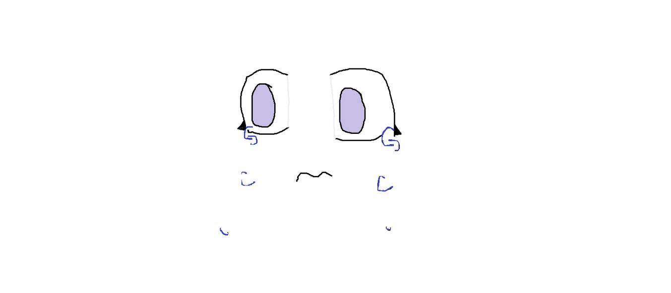 Sad anime eyes by lillyxthexneko