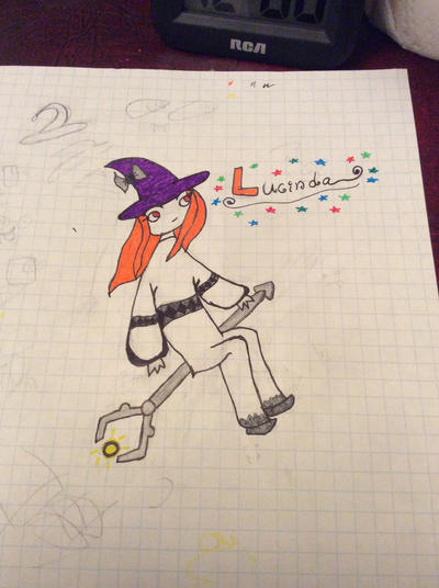 A Lucinda drawing I did last year by MonsterWolf101
