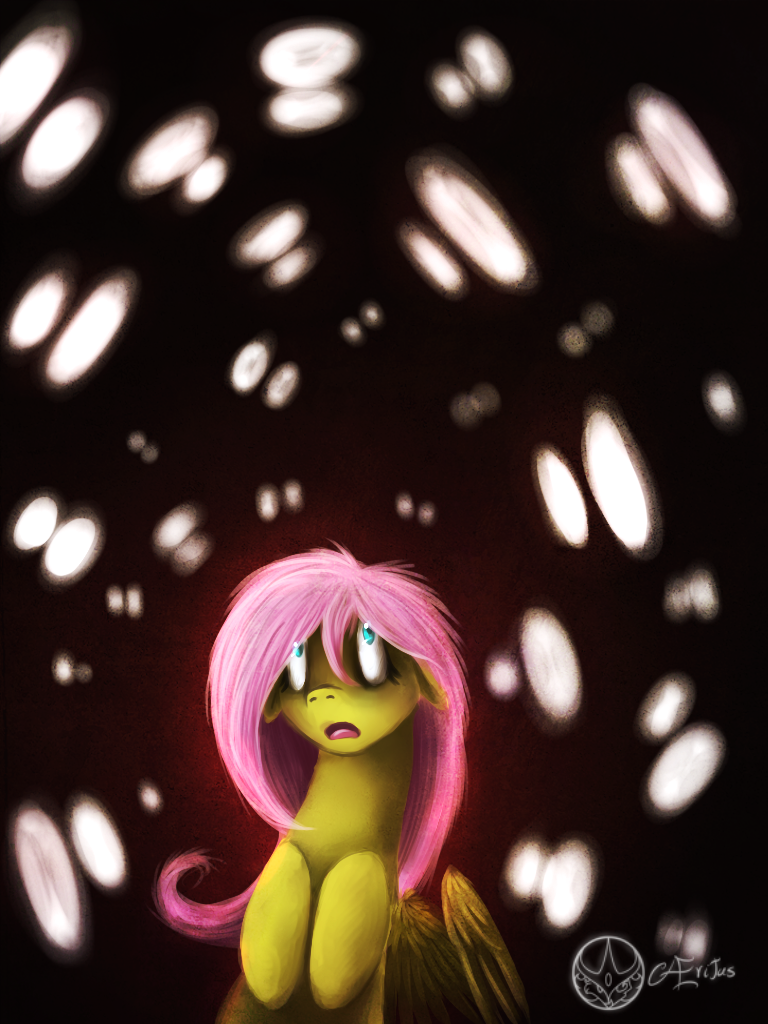 Fluttershy Can Hardly Fly by Aeritus91 on DeviantArt