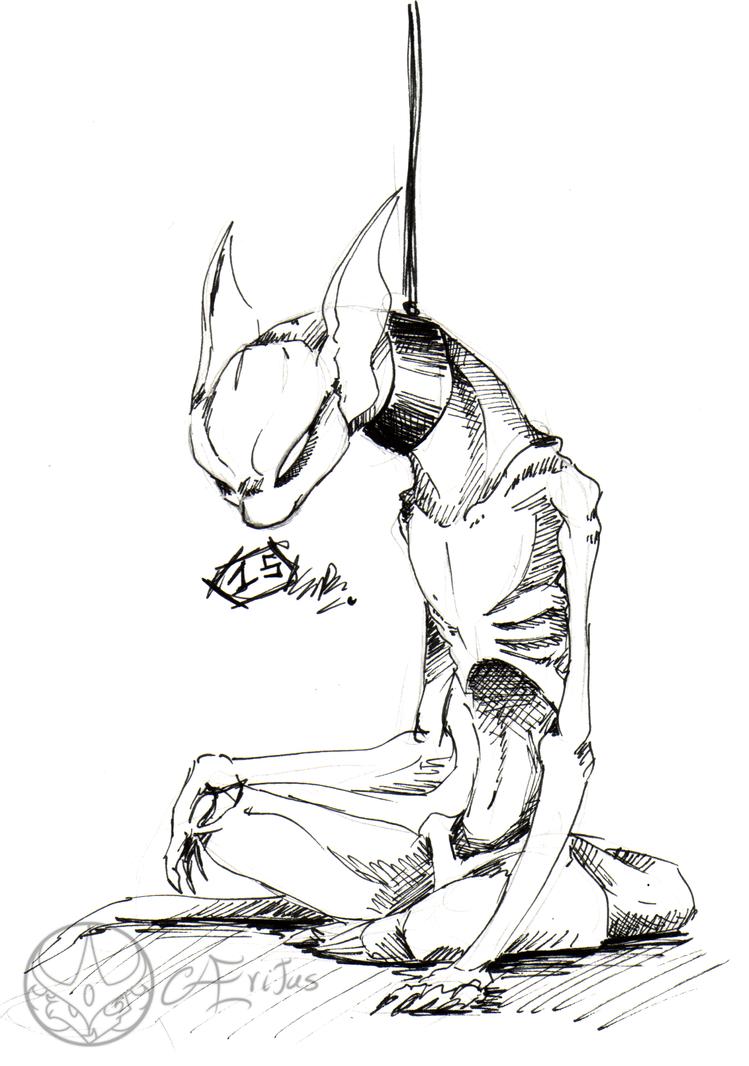 Inkrober-Goretober 15 by Aeritus91