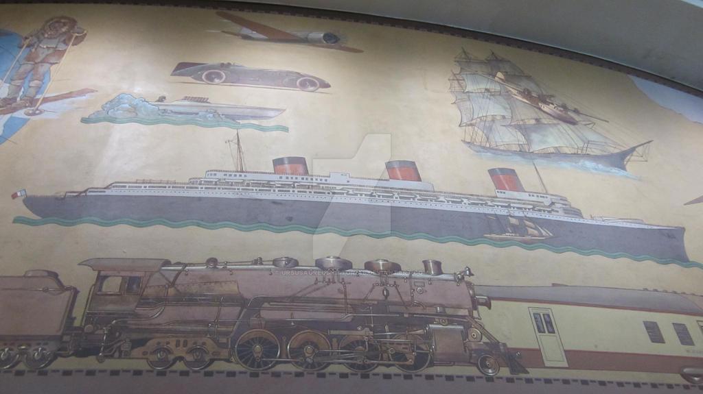 Normandie Mural - SD ASM by wingstopboy