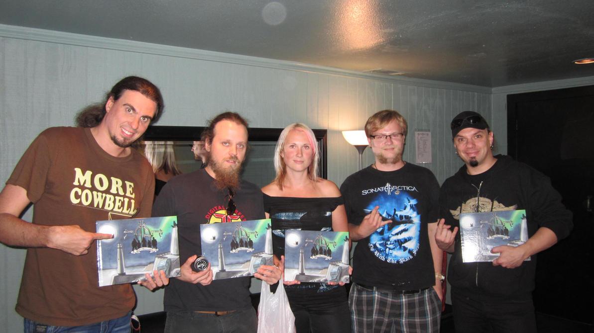 Sonata Arctica Interview and Fangift Exchange by UrsusAureusHistorias