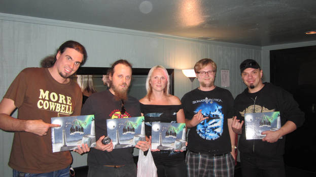 Sonata Arctica Interview and Fangift Exchange