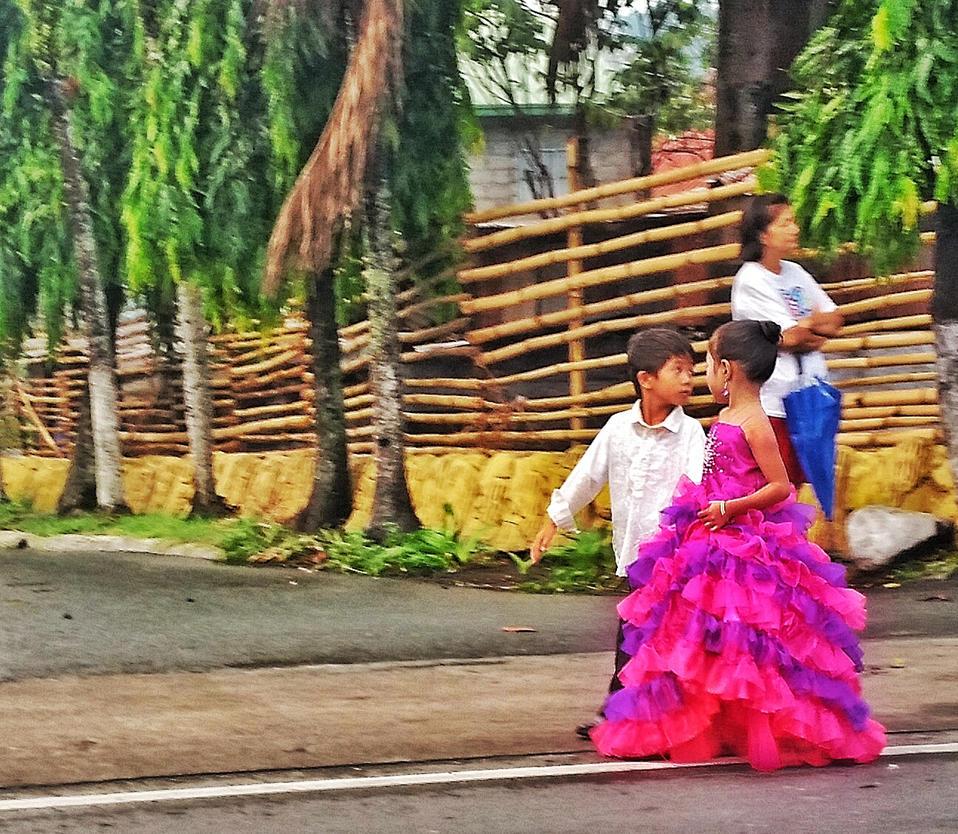 Flores De Mayo , Quezon Philippines 1 by raemie