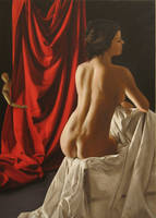behind the curtain by degas74