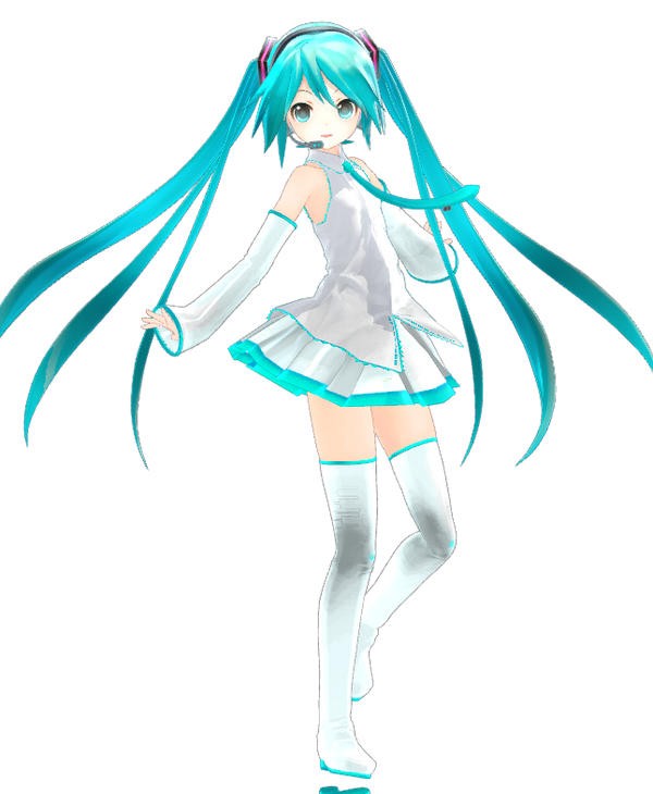 :Api white miku: by tuzizaozi