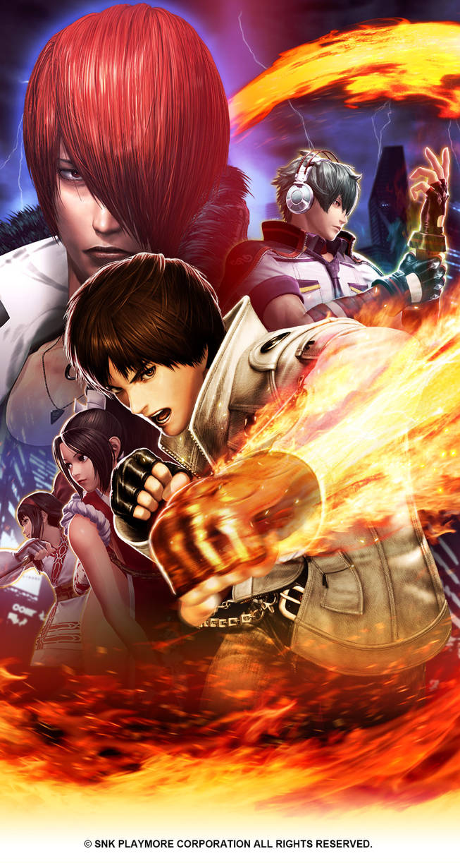 Kof Xiv Android Wallpaper 744x1392 By Zeref Ftx On Deviantart