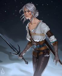 Ciri by Merwild