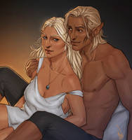 The blond rogues by Merwild